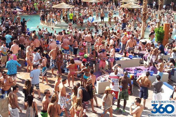Rehab Pool Party at the Hard Rock Hotel & Casino