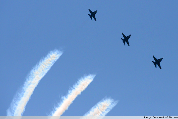 Three Blue Angels
