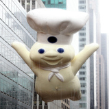 Pillsbury Doughboy Parade Balloon