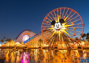 Disneyland California Adventure Rides
