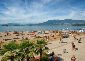 Beaches in Vancouver
