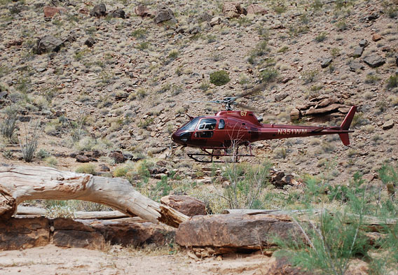 Grand Canyon West Rim Helicopter Tour