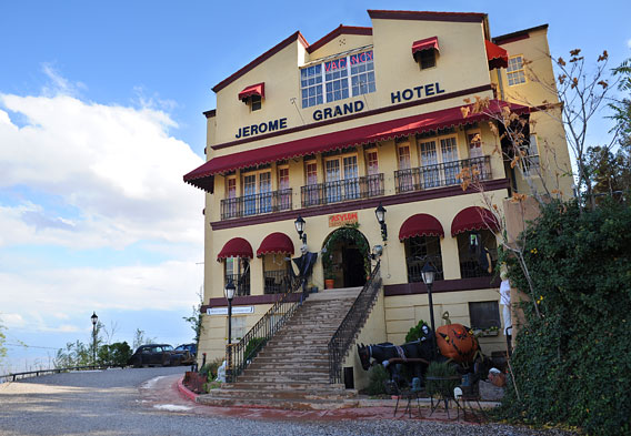 Jerome Grand Hotel Exterior