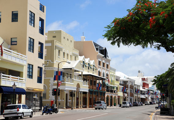 Hamilton Bermuda Shopping