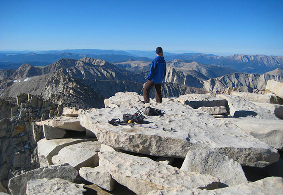 Hiking John Muir Trail