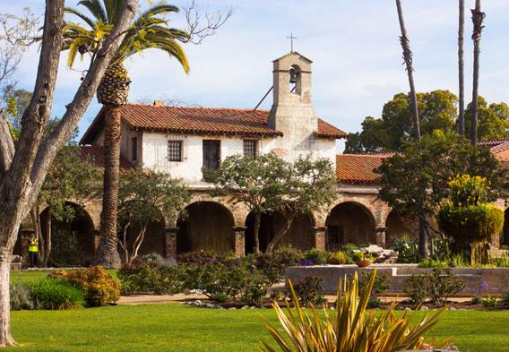 Mission San Juan Capistrano @ Mission San Juan Capistrano   San Juan Capistrano   California   United States