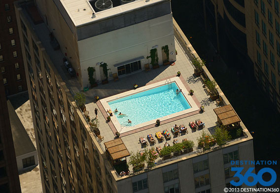 Chicago Rooftop Pools