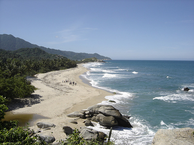 Colombia Beach Vacations
