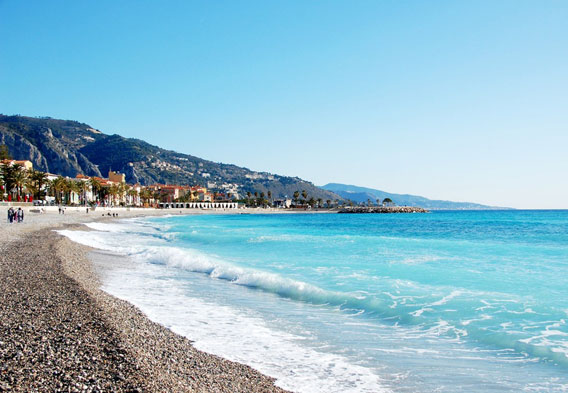 Menton France Beaches