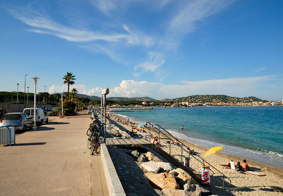 Sainte Maxime Beaches