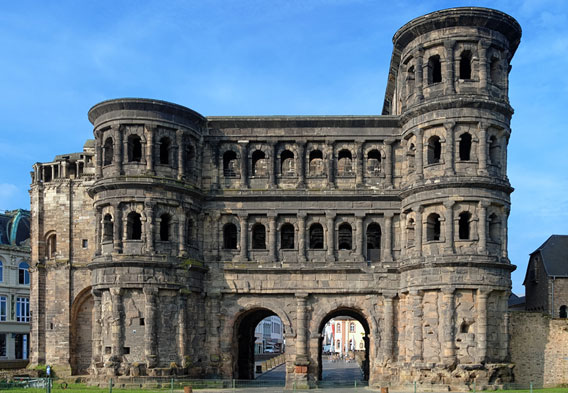 Roman Ruins in Trier Germany
