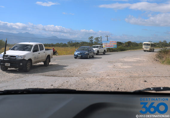 Driving in Honduras