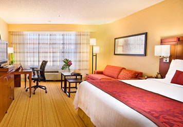 Courtyard Marriott Rooms