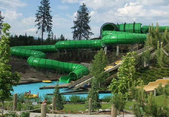 Silverwood Theme Park Camping