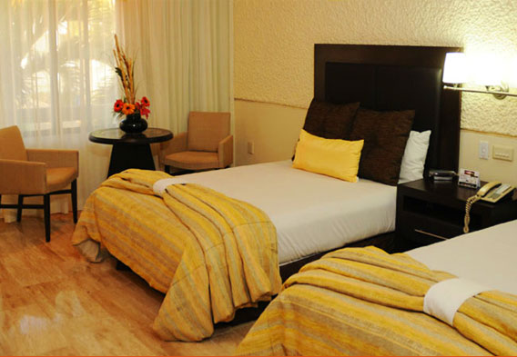 Rooms at El Cid Mazatlan