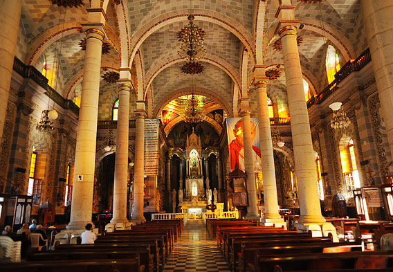 Mazatlan Cathedral Interior