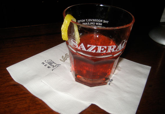 Sazerac & Hurricane Cocktails