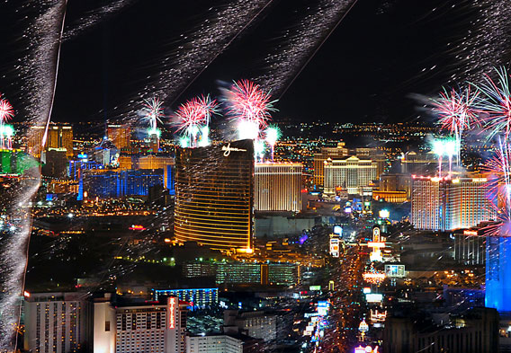 New Years Las Vegas 2014