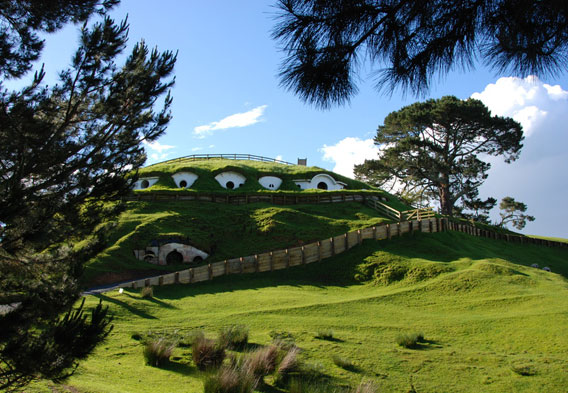 Hobbiton Movie Set Farm Stay