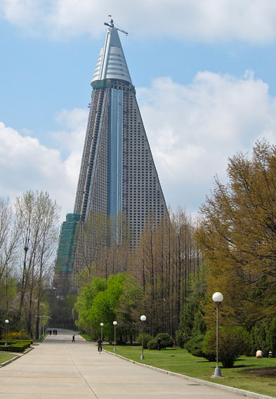 Ryugyong Hotel Construction