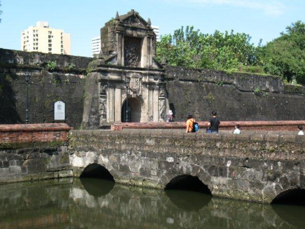 Fort Santiago in Manila Philippines