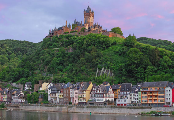 Castles on Moselle River