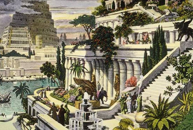 The Hanging Gardens of Babylon, Iraq