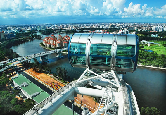 Events Onboard the Singapore Flyer Ferris Wheel