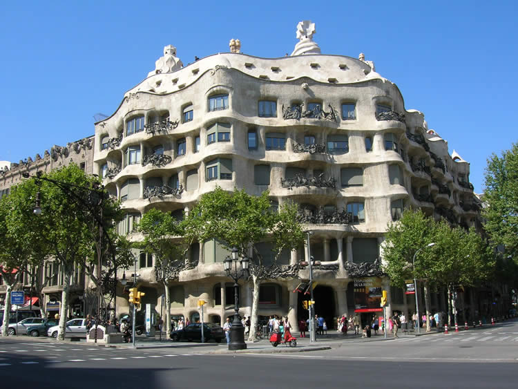 The Works of Antoni Gaudi