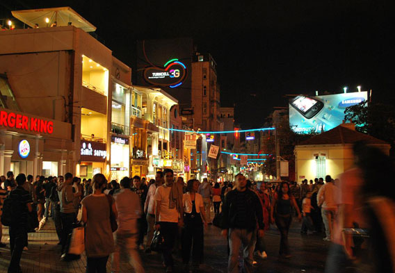 Taksim Square Nightlife
