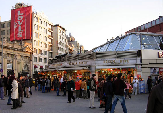 Taksim Square Shopping