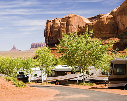 Monument Valley Camping