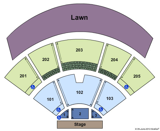 Farm Bureau Live Seating Chart