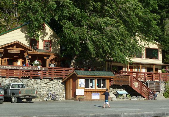 Stehekin Lodging