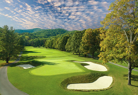 Greenbrier Resort Golf