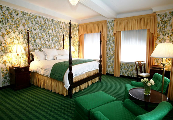 Rooms at the Greenbrier Resort