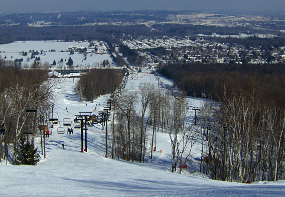 Wausau Skiing– Granite Peak Ski Area