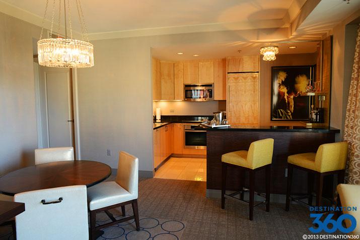 Cosmopolitan terrace suite wet bar for Terrace suite cosmopolitan