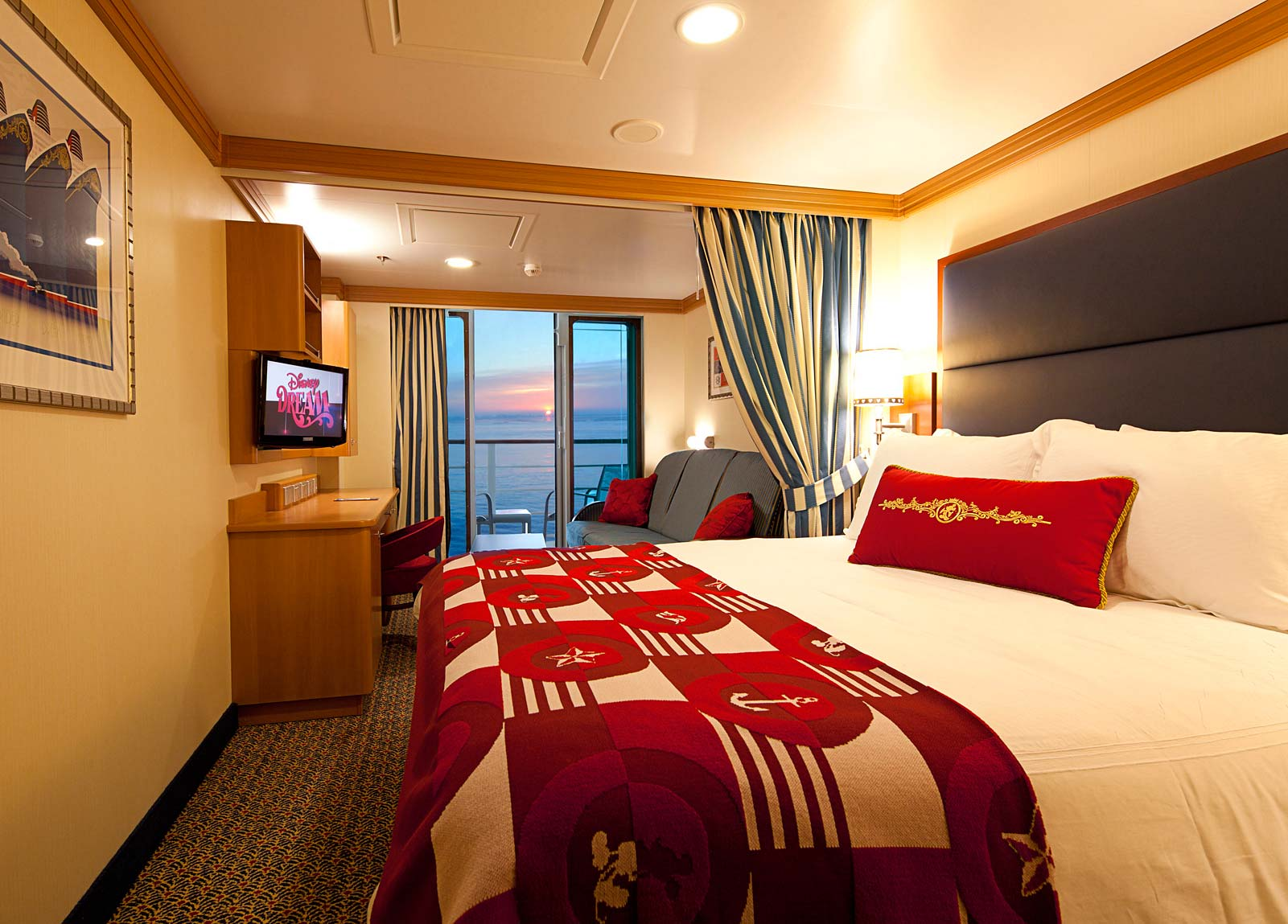 Disney Cruise Rooms