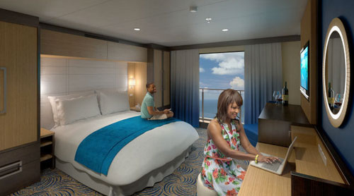 Quantum of the Seas Rooms