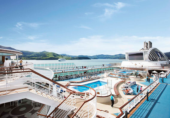 Princess Cruises Pool
