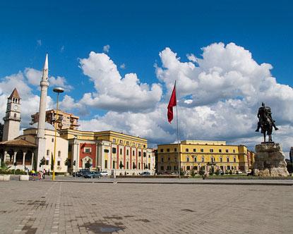 tirana albania capital of albania
