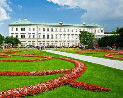 Salzburg Castles Mirabell Palace Mirabell Castle