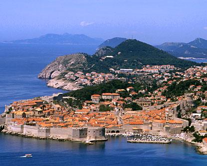 map of croatia dubrovnik. Dubrovnik Croatia