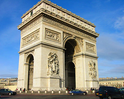 Arc de Triomphe - Monuments of Paris