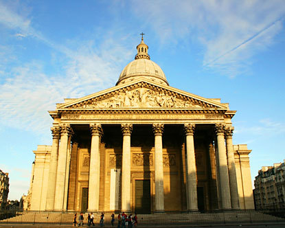 Pantheon Paris - Famous Buildings in Paris