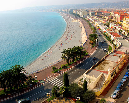 Beaches in Nice