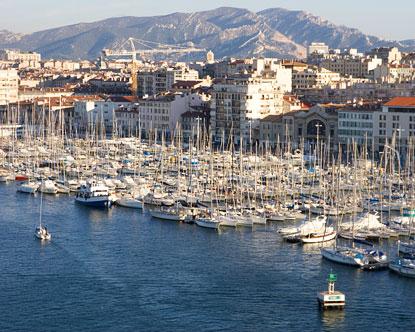 Vieux Port Marseille Old Port Of Marseille
