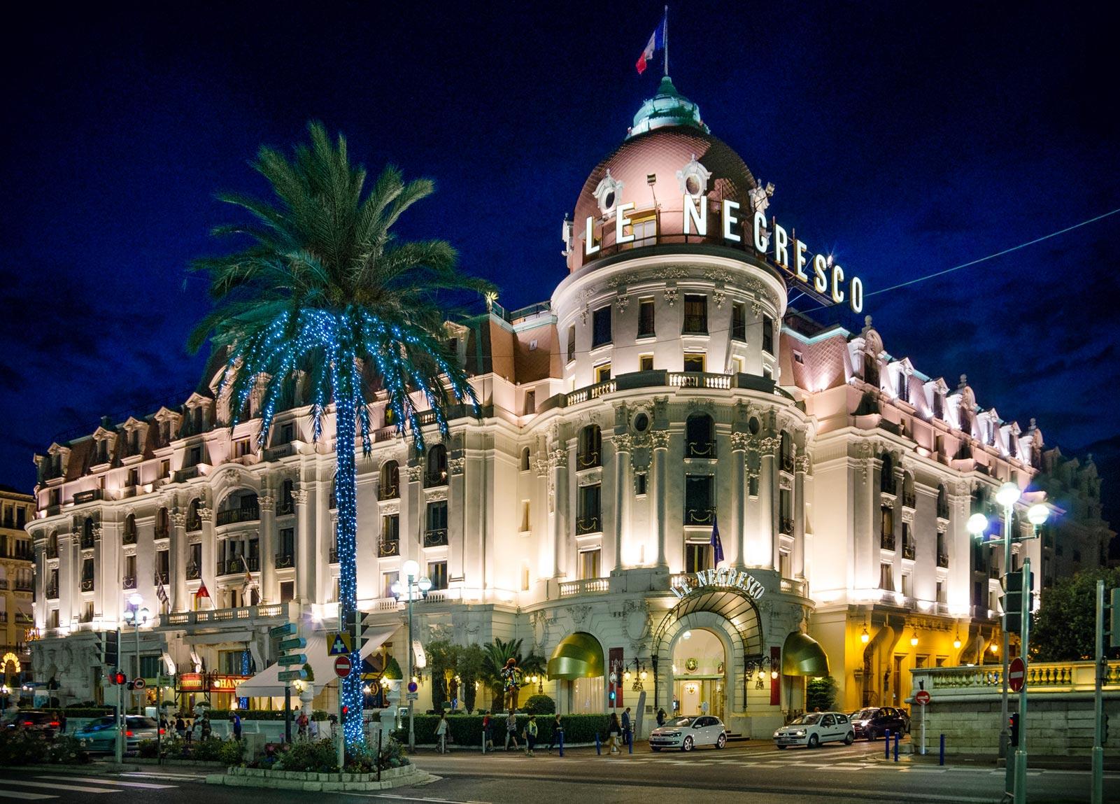 Hotel Negresco Hotel Negresco In Nice