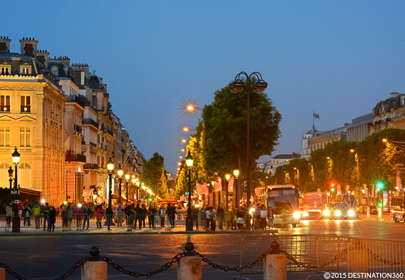 Champs Elysees Night